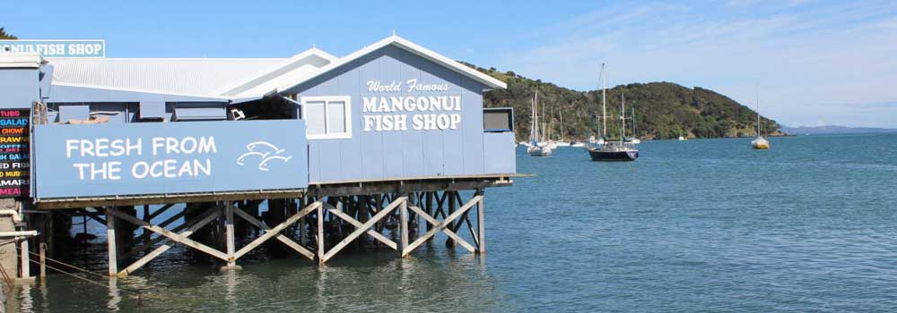 Rangikapiti Pa and Mangonui Fish Shop